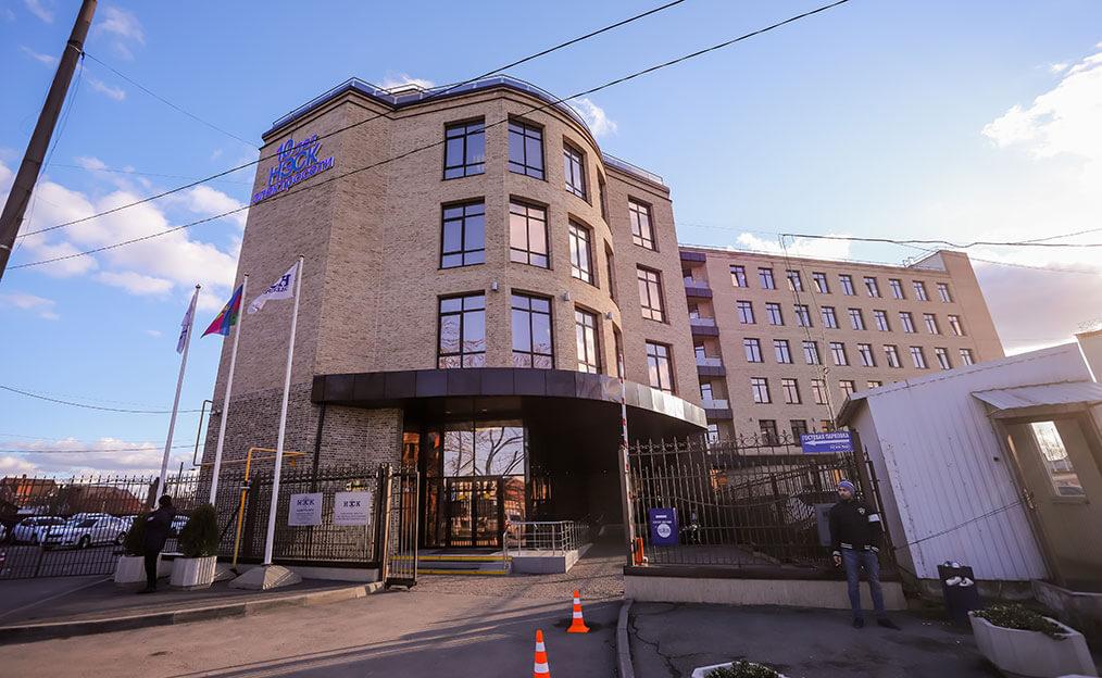 Административное здание, пер. Переправный, 13 в г. Краснодаре